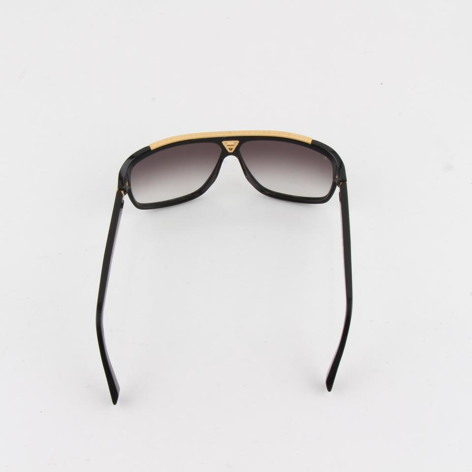 4e62eda5ff7 Louis Vuitton Louis Vuitton Black Acetate Frame Evidence Millionaire  Sunglasses Z035 Image 11. 123456789101112