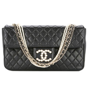 Chanel Classic Flap Westminster Pearls Limited Edition Shoulder Bag
