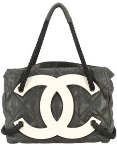 4ff385484d07c8 Chanel Shopping Yacht Boating Limited Edition Tote in Black