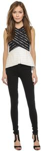 BCBGMAXAZRIA Top BLACK/COMB
