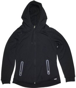 Avia Hoodie Large J050918-28 Full Zip Black Jacket