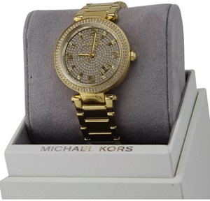Michael Kors new michael Kors parker darci gold crystal watches
