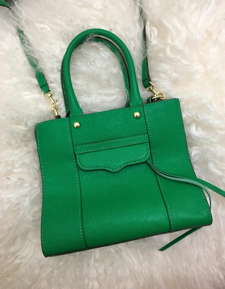 9d0e30d57e13 Rebecca Minkoff Mini Mab Green Leather Cross Body Bag - Tradesy