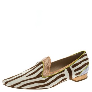Rene Caovilla Brown Flats