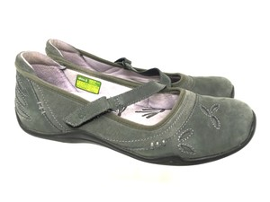 Ahnu Size 7 S040918-04 Mary Jane Green Flats