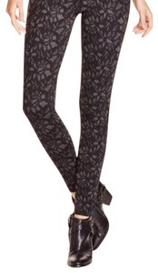Joie black/grey floral Leggings