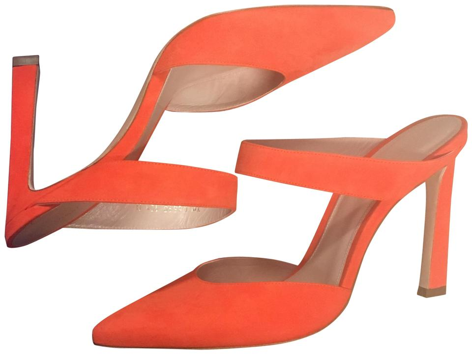 WOMENS Stuart Low Weitzman Paprika Eventually Mules/Slides Low Stuart costs 03e98e