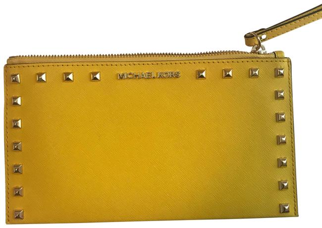 Item - Citrus Yellow Sandrine Cosmetic Bag