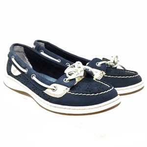 Sperry Size 6.5 Us S071618-13 blue Flats