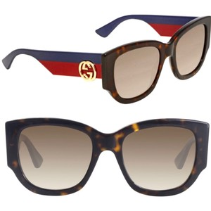 2c643a6eafc2 Blue Gucci Sunglasses - Up to 70% off at Tradesy