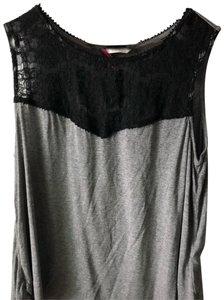 H&M Top grey black