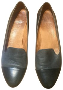 Madewell Leather Two-tone Color-blocking Flats