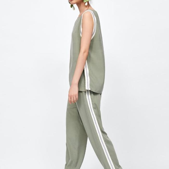 Zara Relaxed Pants Image 3