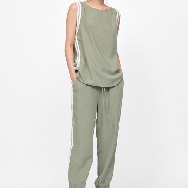 Zara Relaxed Pants Image 4