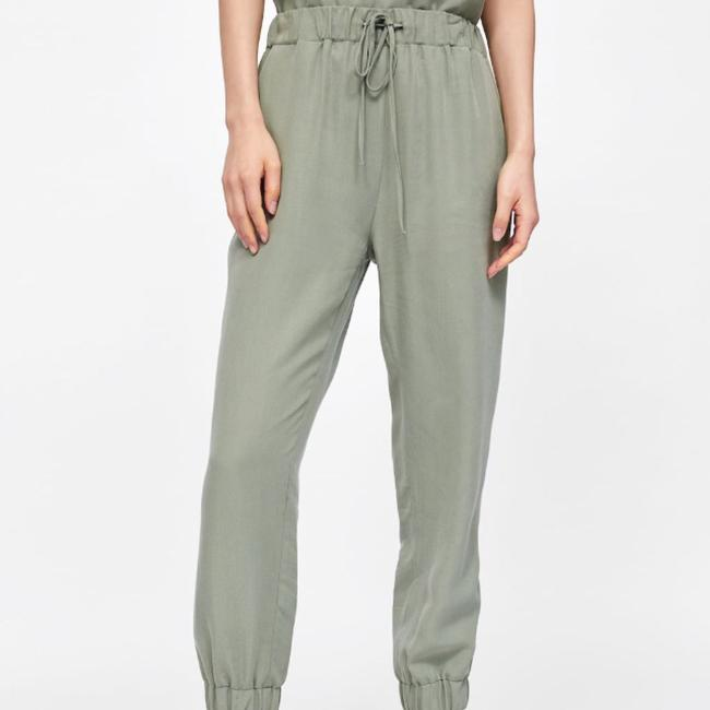 Zara Relaxed Pants Image 5