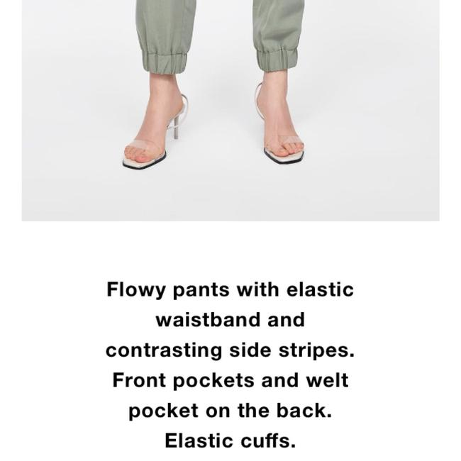 Zara Relaxed Pants Image 6