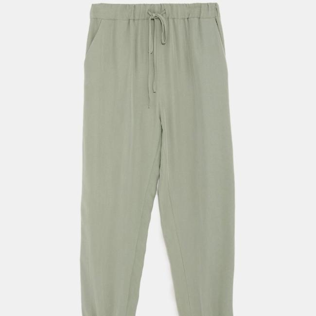 Zara Relaxed Pants Image 8