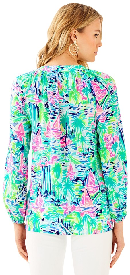 a354744efe5295 Lilly Pulitzer Green Multi XS New Elsa