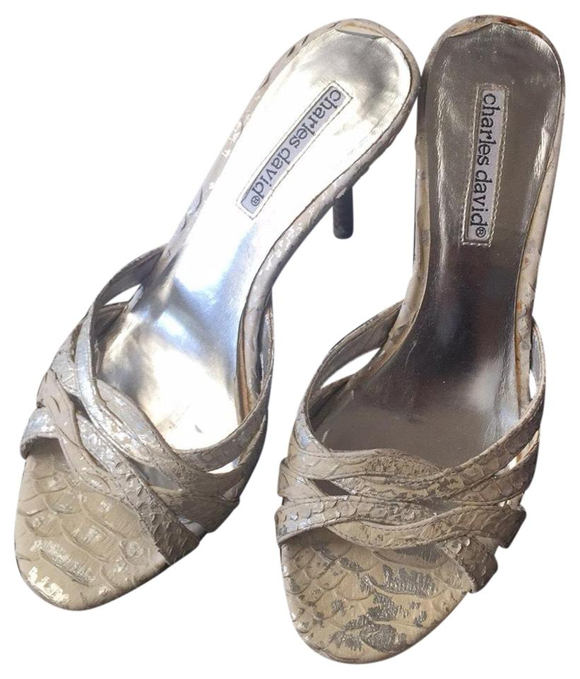 WOMEN Charles Silver David Silver Charles Mules/Slides to buy b4ebf6