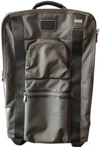 Tumi Green and Black Travel Bag