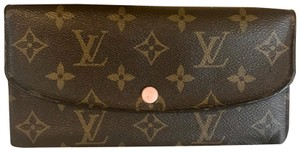 Louis Vuitton Louis Vuitton Pink Emile Long Wallet