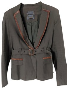 Camilla and Marc Leather Military Jacket
