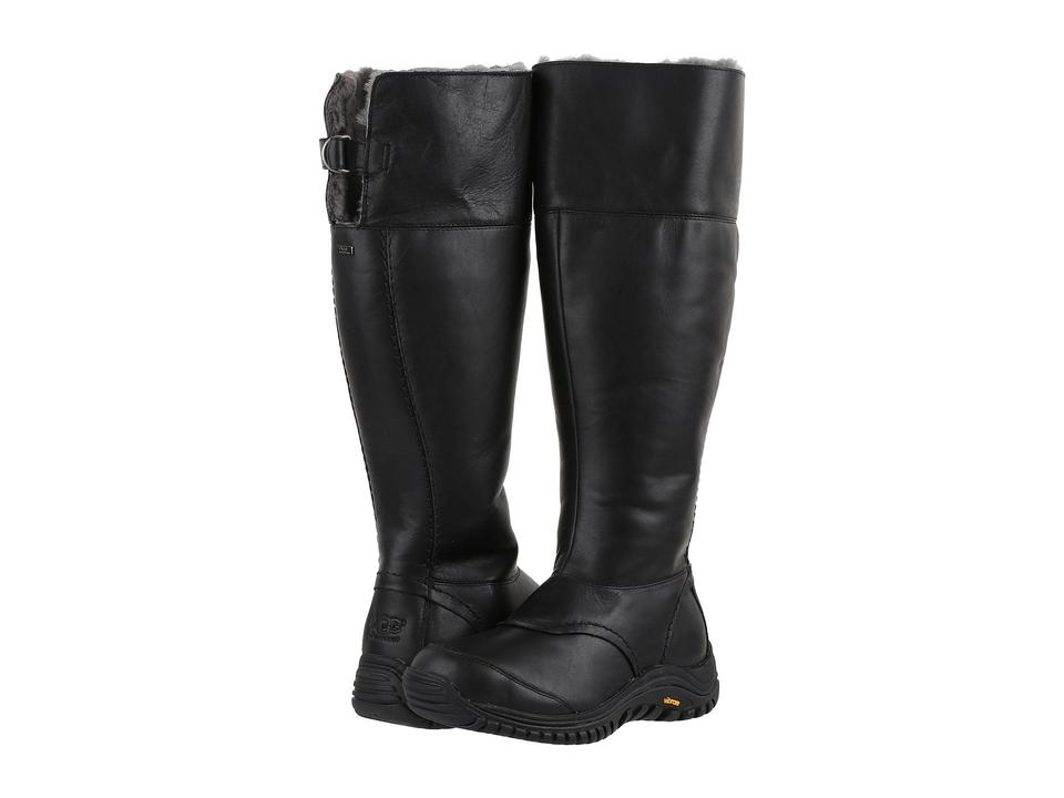 10e3ebd6030 UGG Australia Black Miko Winter Leather Boots/Booties Size US 7 Regular (M,  B) 48% off retail