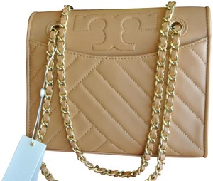 2a1a5594586 Added to Shopping Bag. Tory Burch Shoulder Bag. Tory Burch Alexa Flash-sale  Medium Convertible Brown Leather ...