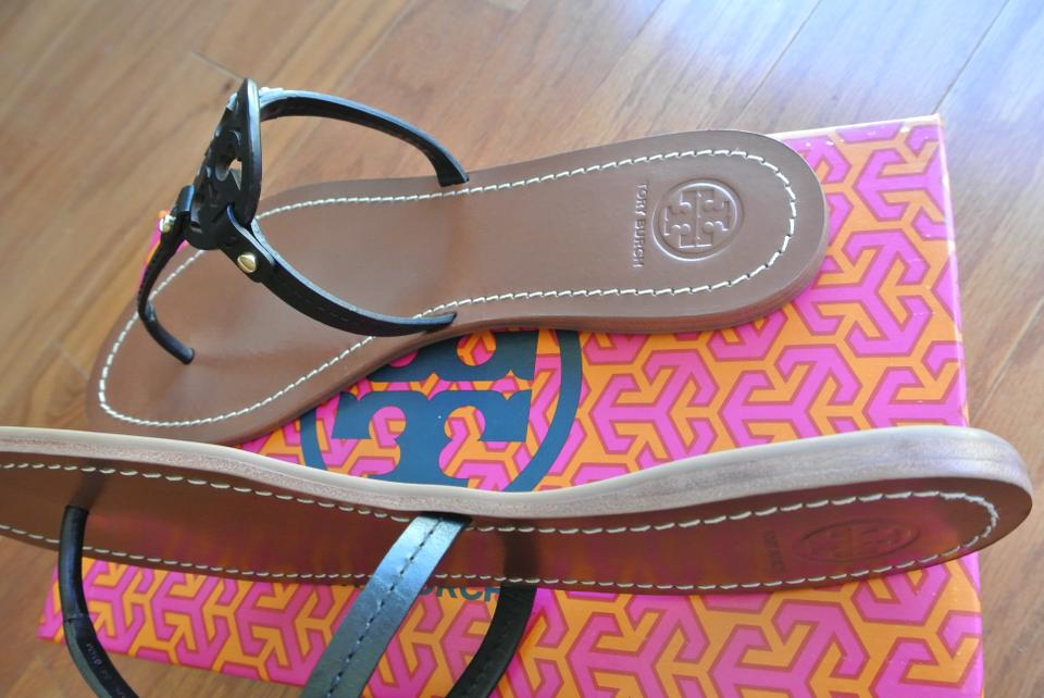 e868cdf91 Tory Burch Black End-of-summer-sale Mini Miller Sandals Size US 9 ...