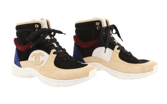 Chanel Suede Calfskin Leather Rubber Multi Athletic Image 1