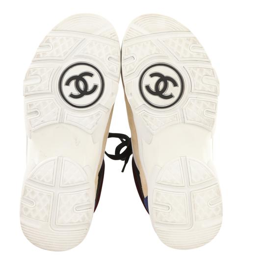 Chanel Suede Calfskin Leather Rubber Multi Athletic Image 10