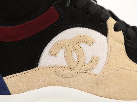 Chanel Suede Calfskin Leather Rubber Multi Athletic Image 8