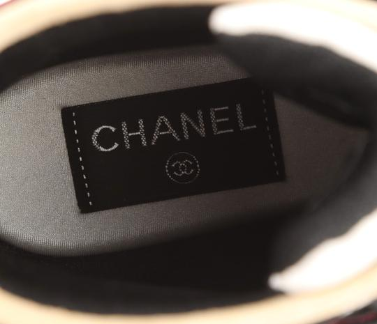 Chanel Suede Calfskin Leather Rubber Multi Athletic Image 9