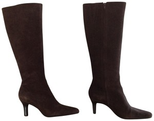 Ann Taylor LOFT Suede Knee High Suede Knee High Knee High Brown Boots