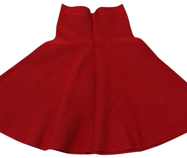 Item - Red Ingrid Skirt Size 00 (XXS, 24)