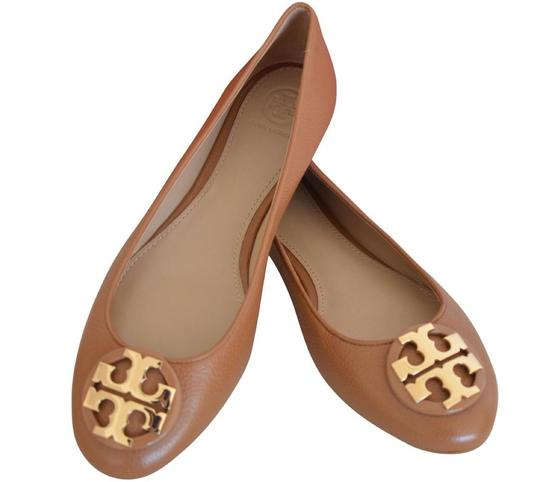 Tory Burch Brown Claire Ballet Tumbled