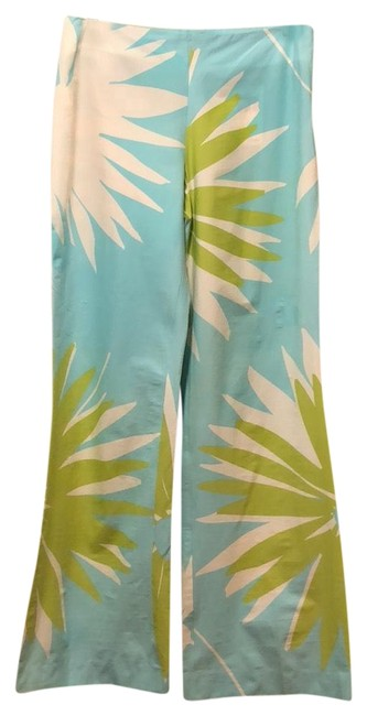Item - Blue/Green Trousers Pants Size 6 (S, 28)