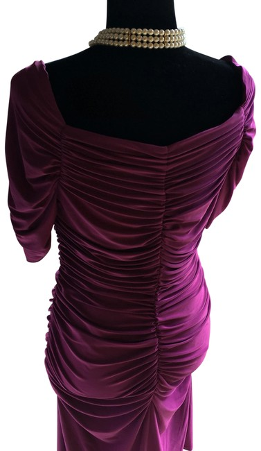 Item - Purple Evening Mid-length Night Out Dress Size 12 (L)