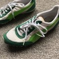 Puma Green and Silver Suede Sneakers Size US 5.5 Regular (M, B) Puma Green and Silver Suede Sneakers Size US 5.5 Regular (M, B) Image 2