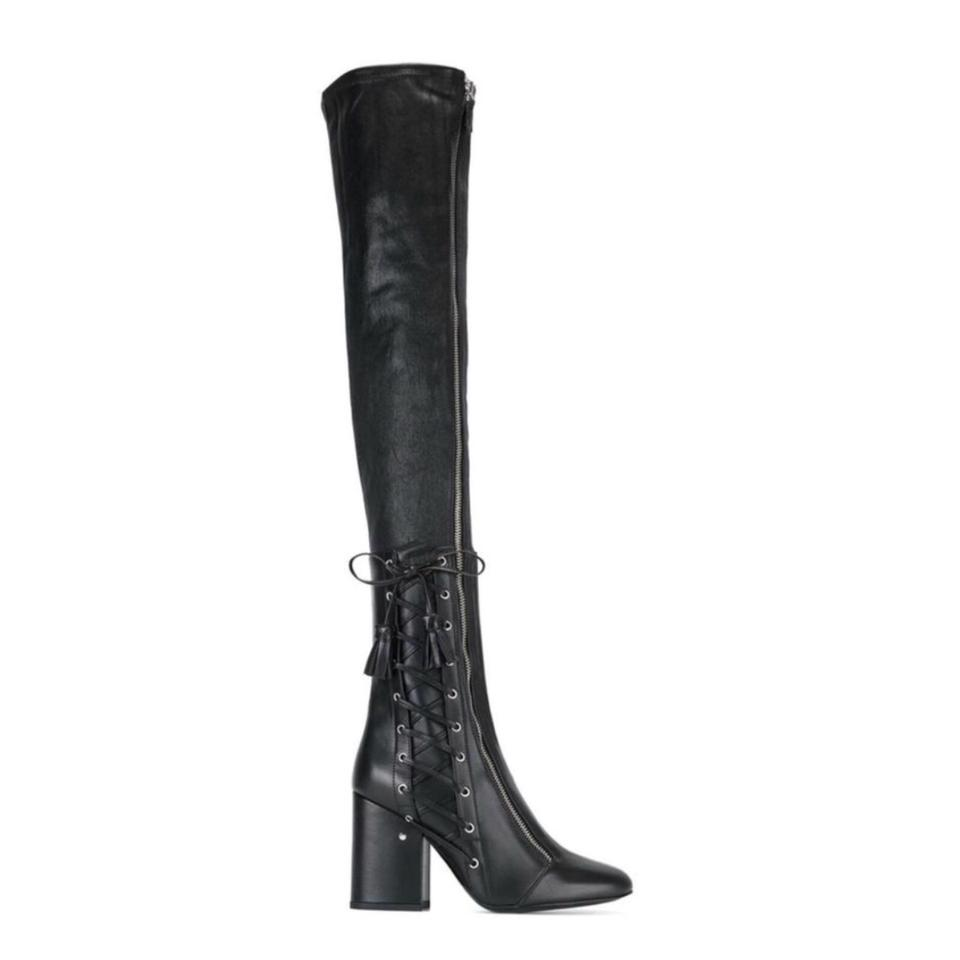 Laurence Dacade The Black New Maren Over The Dacade Knee Leather Boots/Booties 44e3d4
