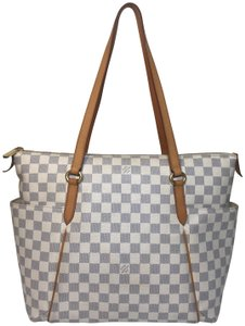 Louis Vuitton Damier Azur Totally Shoulder Bag