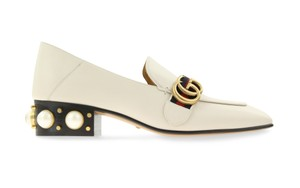 Gucci White Pumps
