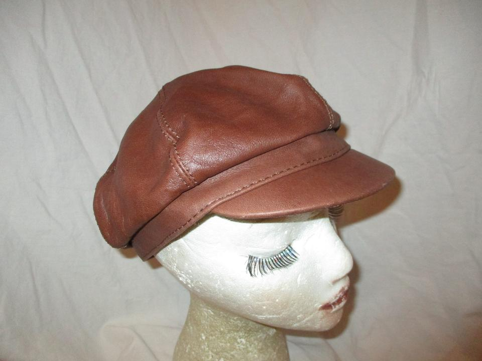 6a986e741da Wilsons Leather Brown Maxima Newsboy Cap Hat - Tradesy
