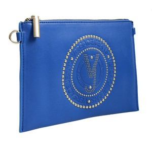 Versace Jeans Collection Blue Clutch