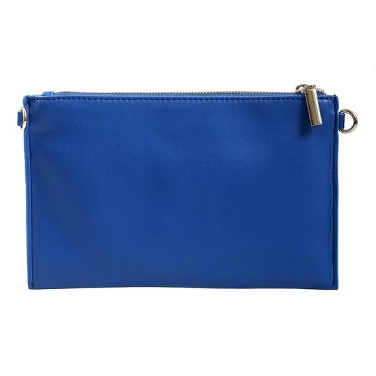 Versace Jeans Collection Blue Clutch Image 3