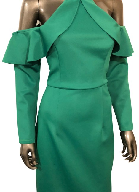 Item - Green Mid-length Cocktail Dress Size 8 (M)