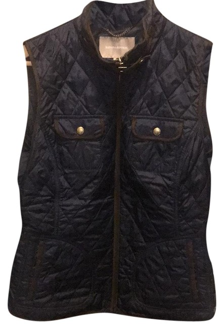 Item - Navy Quilted Vest Size 8 (M)