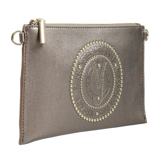 Preload https://img-static.tradesy.com/item/23989543/versace-jeans-collection-gunmetal-faux-leather-clutch-0-0-540-540.jpg