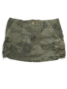 American Eagle Outfitters J042418-30 Cargo Size Mini Skirt Camouflage