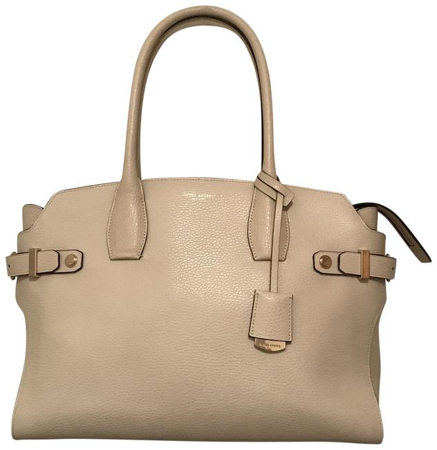 Item - Carlyle Tote White Leather Satchel